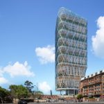 World's Tallest Hybrid Timber Tower Under Construction in Australia