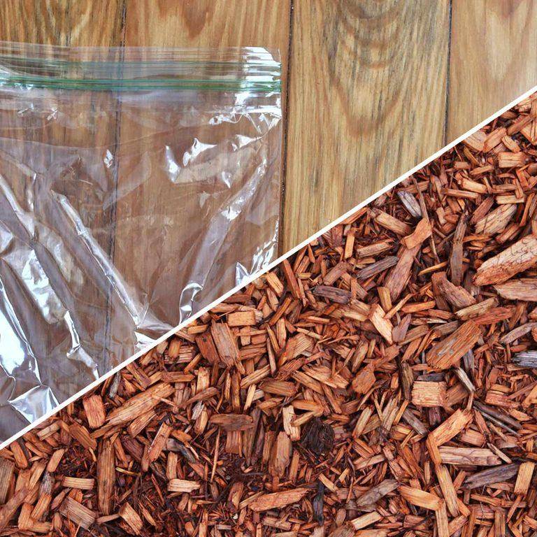 plastic bag uses life hacks reusable recycle cedar