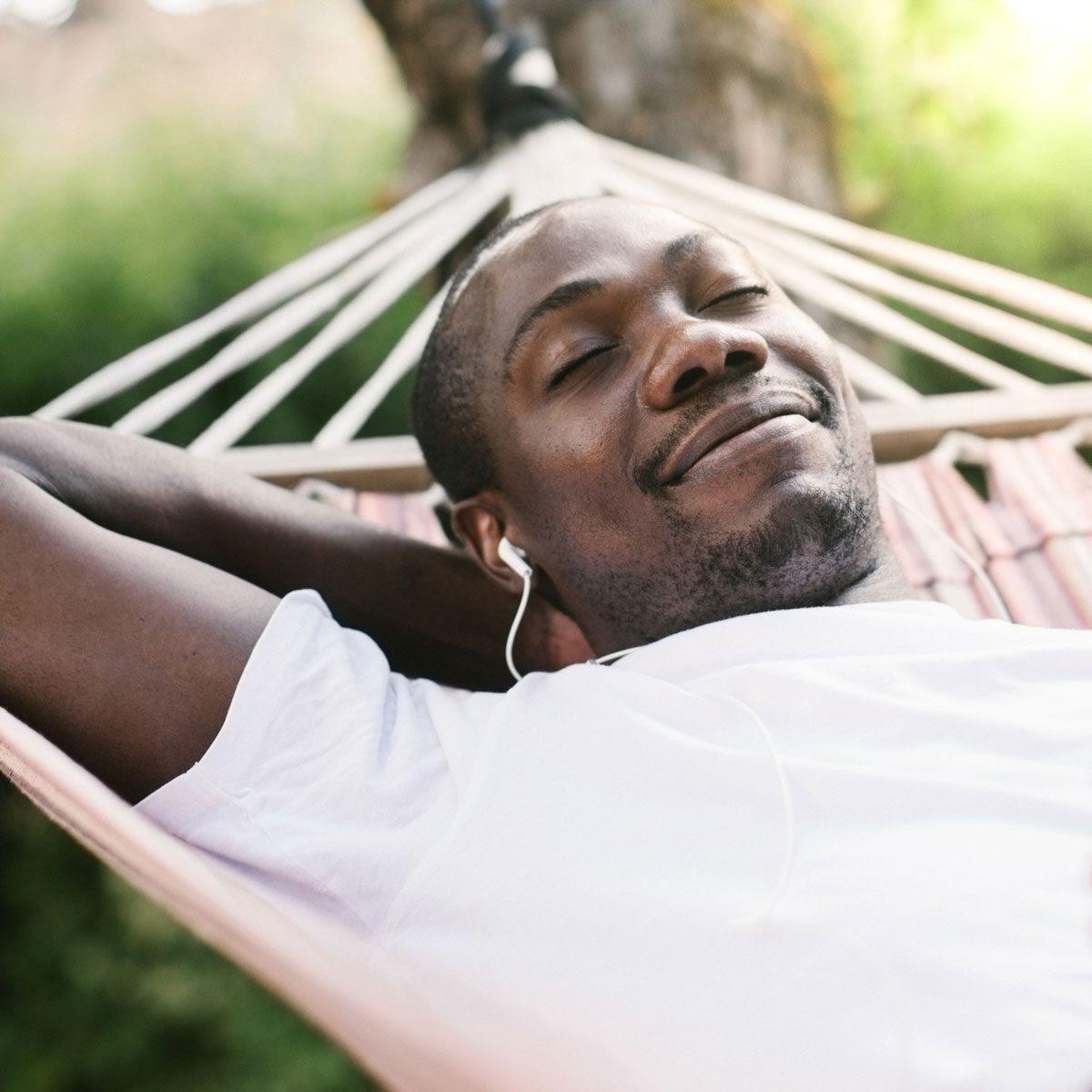 Patio hammock