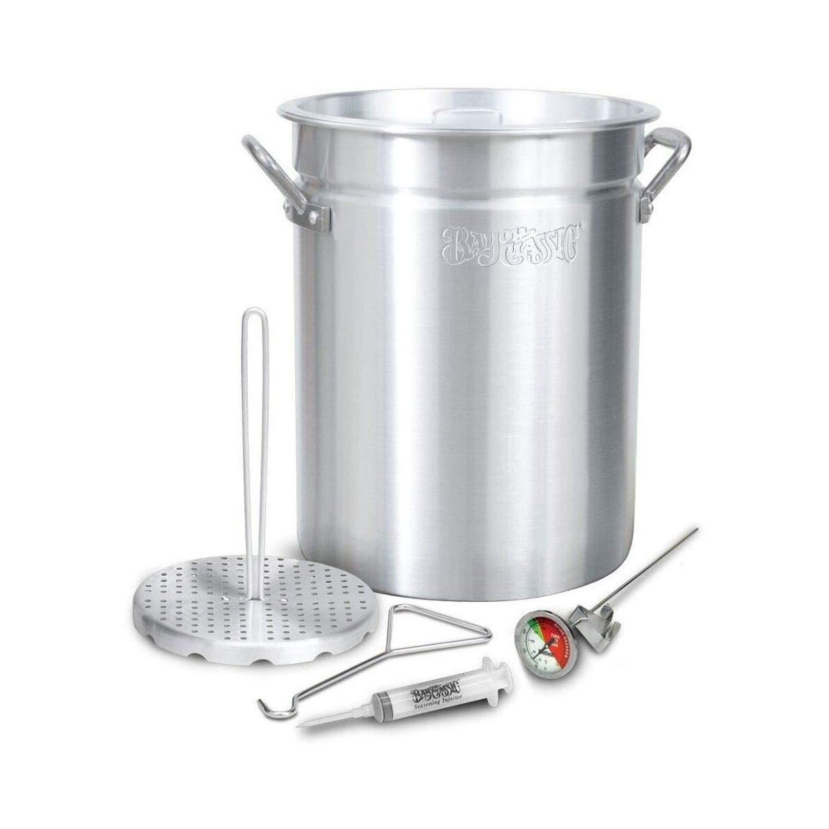 Large fryer pot