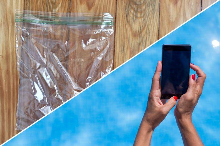 plastic bags uses pool protect life hacks reusable