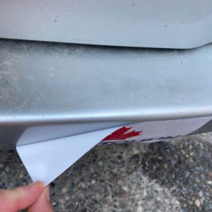 How to Remove Stickers From Your Bumper
