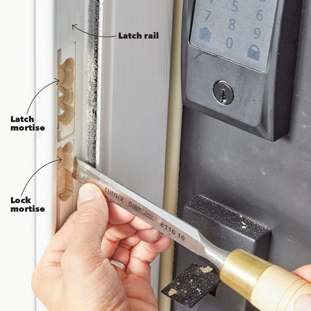 Make room for the Latch and Deadbolt