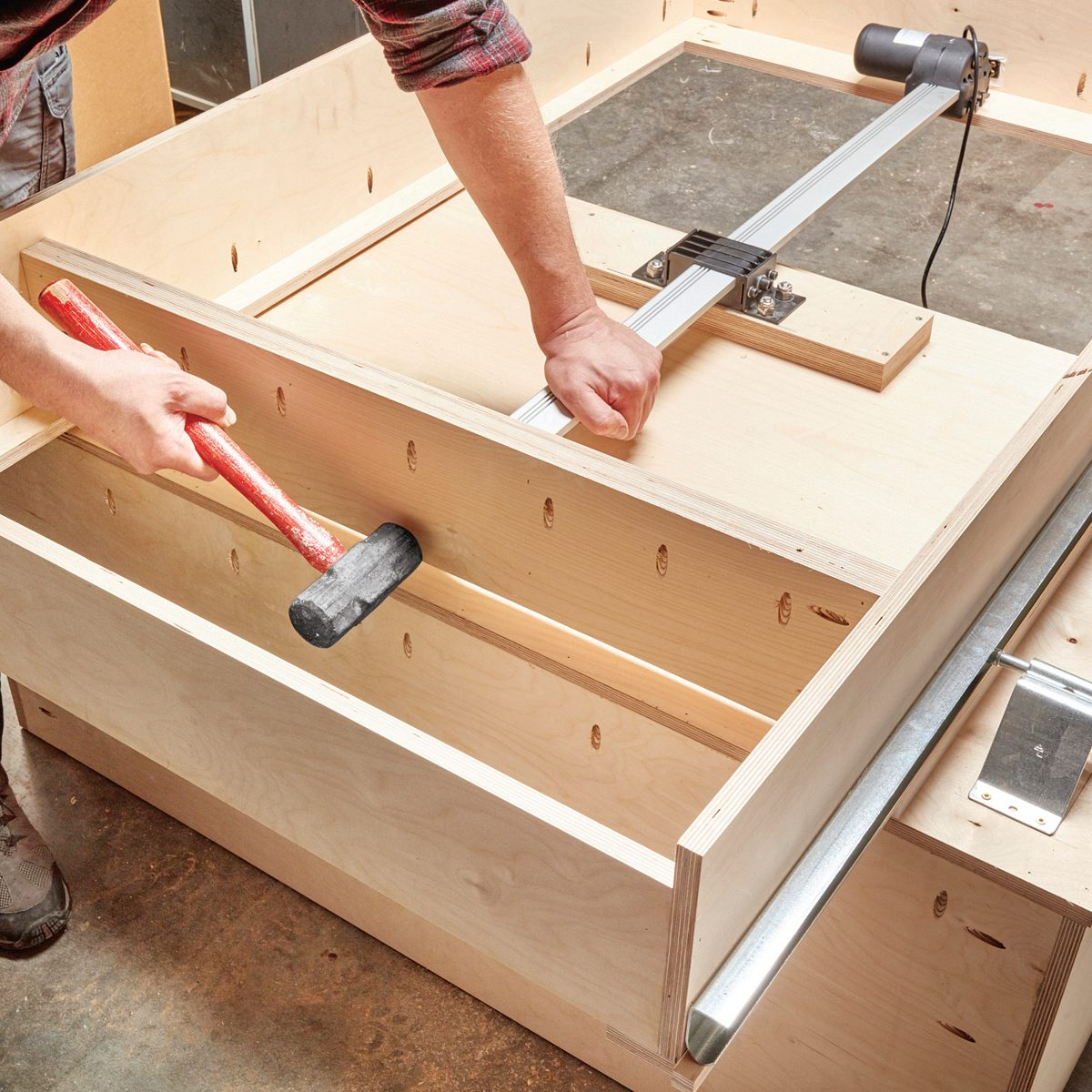 Setting the bulkhead