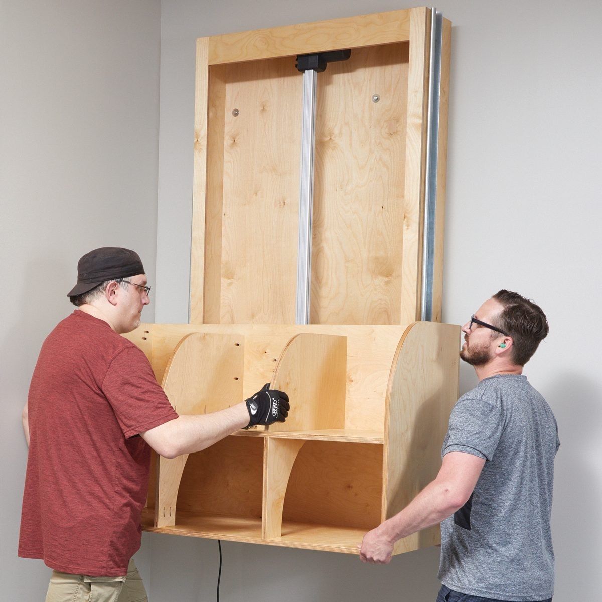 Setting the shelf