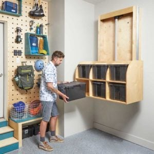 How to Build a Mechanized Storage Lift In Your Garage