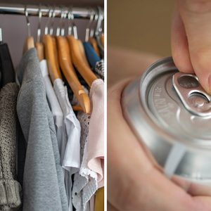 You Can Double Your Closet Space Using Soda Cans — Here's How