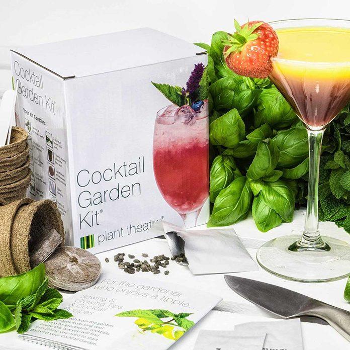 Cocktail garden grow kit