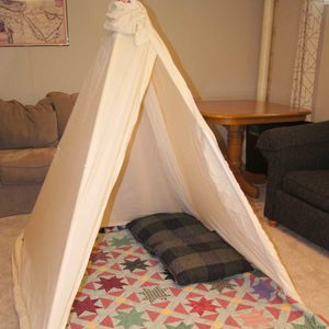 How to Build an Indoor Kids Fort with PVC Pipe