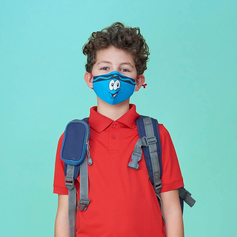 crayola kids face mask