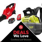 Deals We Love: Cordless Leaf Blowers