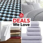 Deals We Love: Bedding and Bath Decor