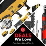 Deals We Love: Cordless Hand Tools