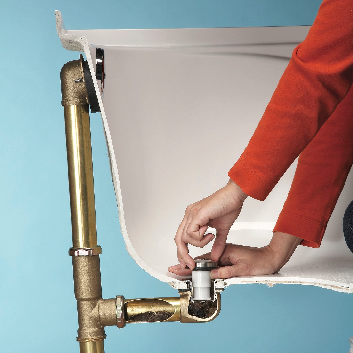 How To Unclog A Shower Drain Without Chemicals Diy Family Handyman