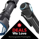 Deals We Love: Rechargeable Flashlights