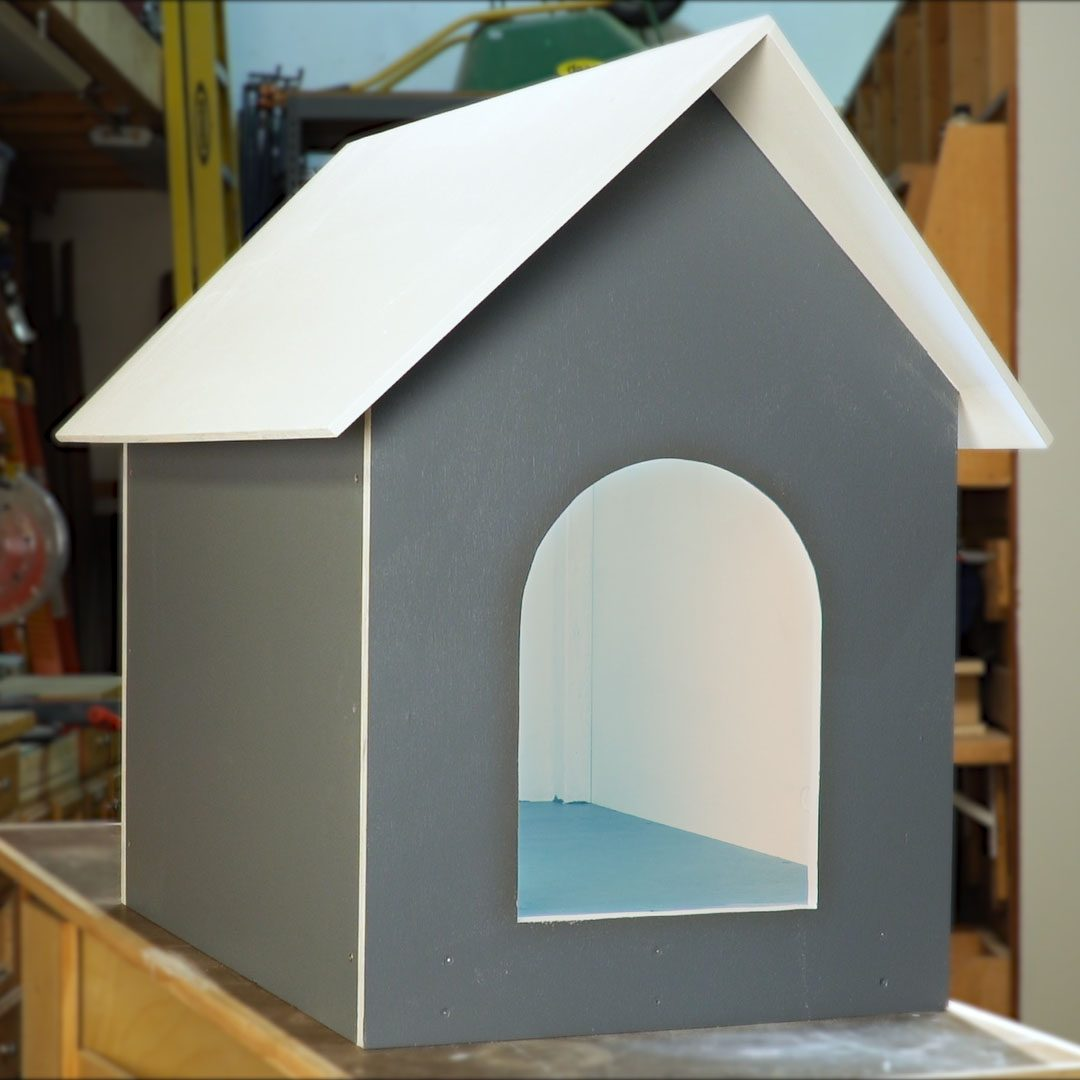 How To Make A Diy Dog House Family Handyman