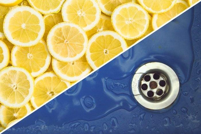 clogged drain lemon uses