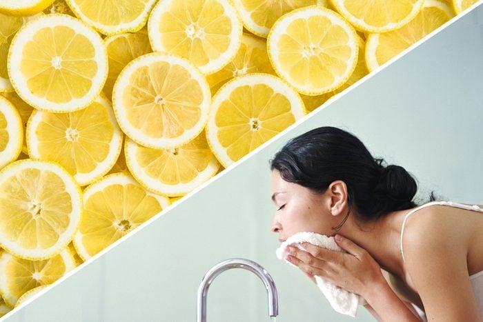 face wash lemon uses