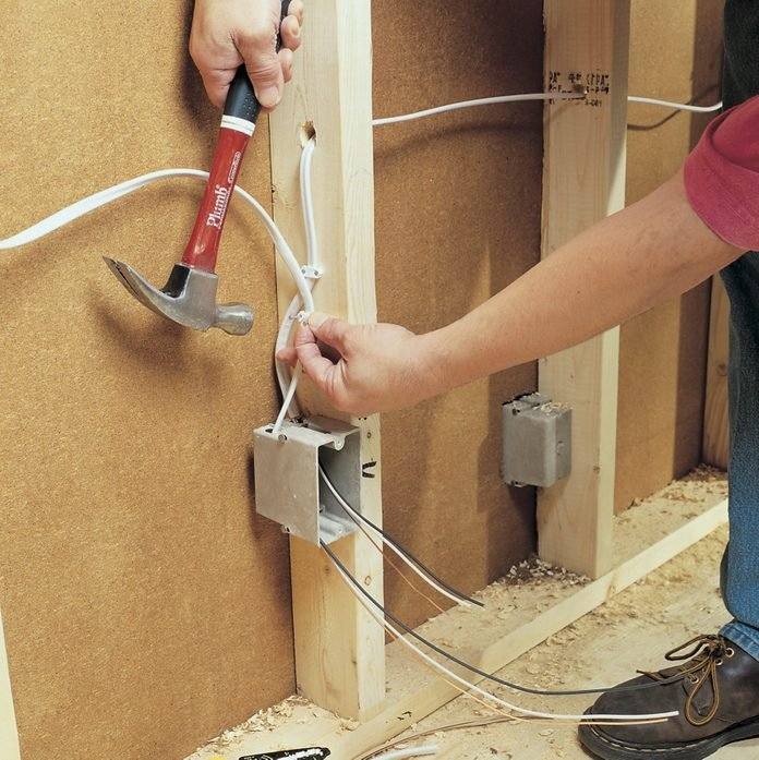 How to Rough-In Electrical Wiring (DIY)   Family HandymanThe Family Handyman