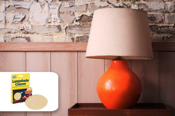 lampshade fall cleaning