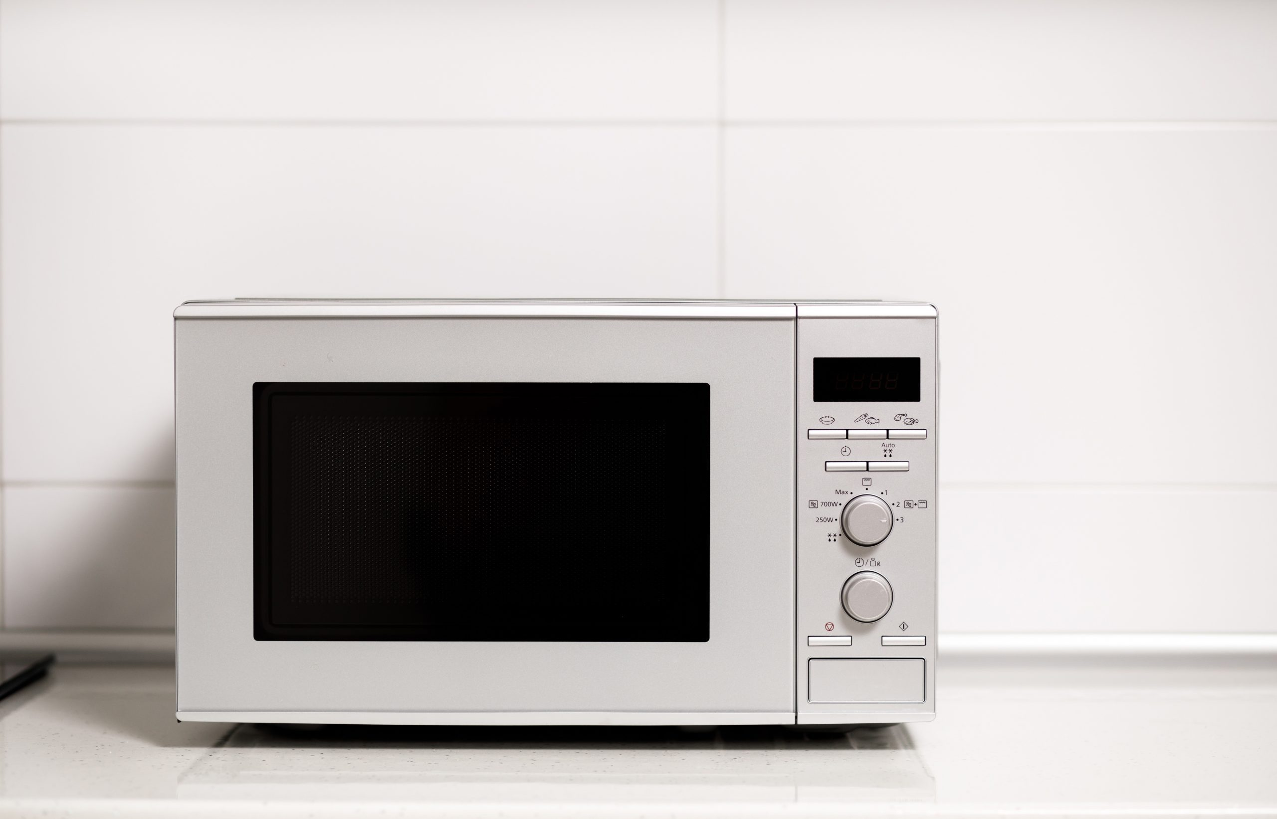 Modern kitchen interior. Kitchen interior with electric and microwave oven.