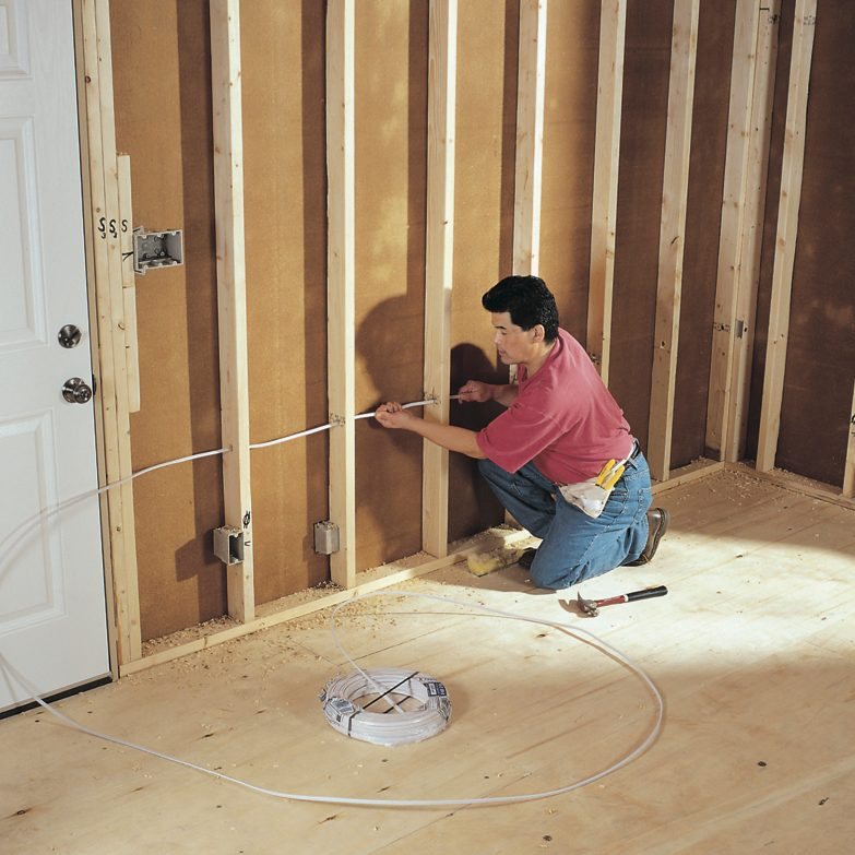 How to Rough-In Electrical Wiring (DIY) | Family Handyman | Whole House Electrical Wiring Diagram |  | The Family Handyman