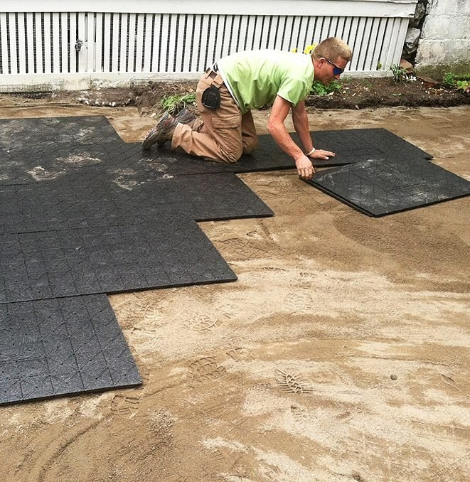 Easier Paver Patio Base That Will Save, How To Lay Your Own Patio Pavers