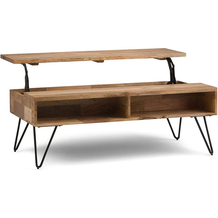 Converting coffee table