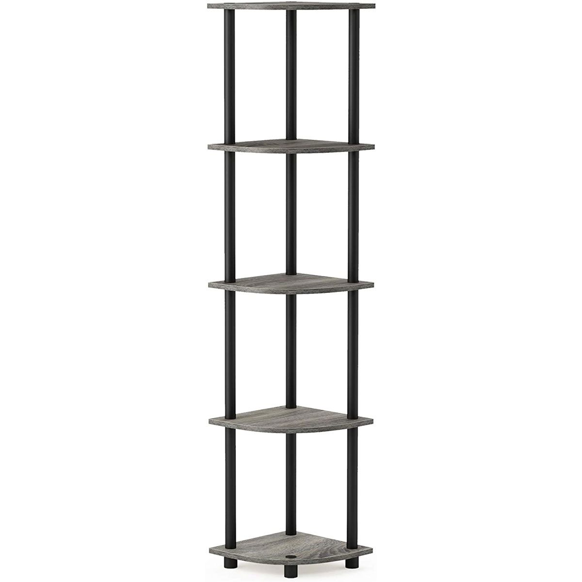 Corner shelf tower