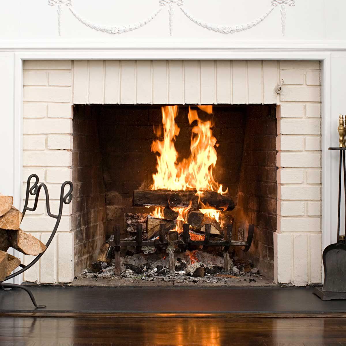 Newly Replaced Fireplace
