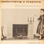 Vintage Family Handyman Project: Modernizing a Fireplace (Then and Now)