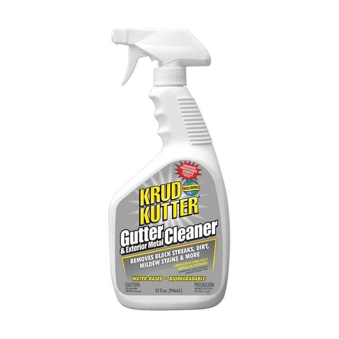 Gutter spray