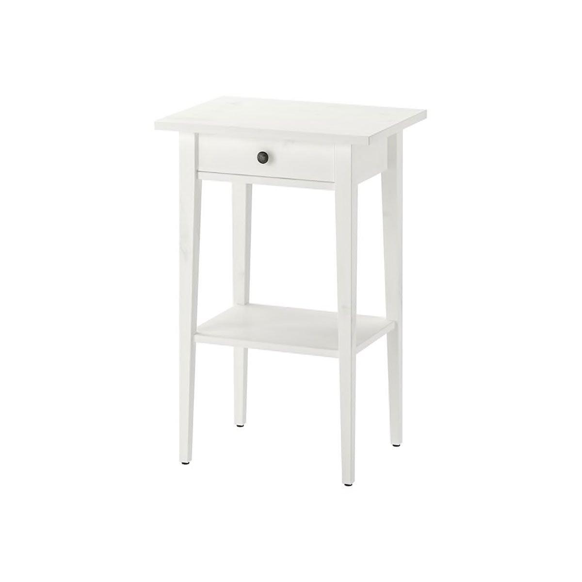 White nightstand