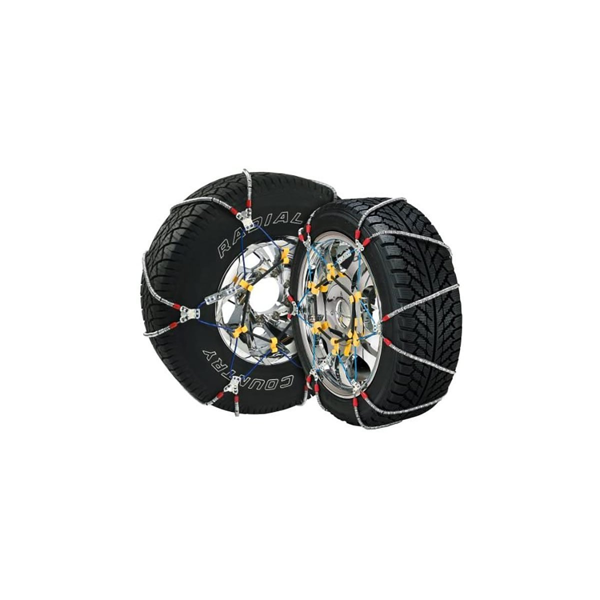 Snow chains for tires