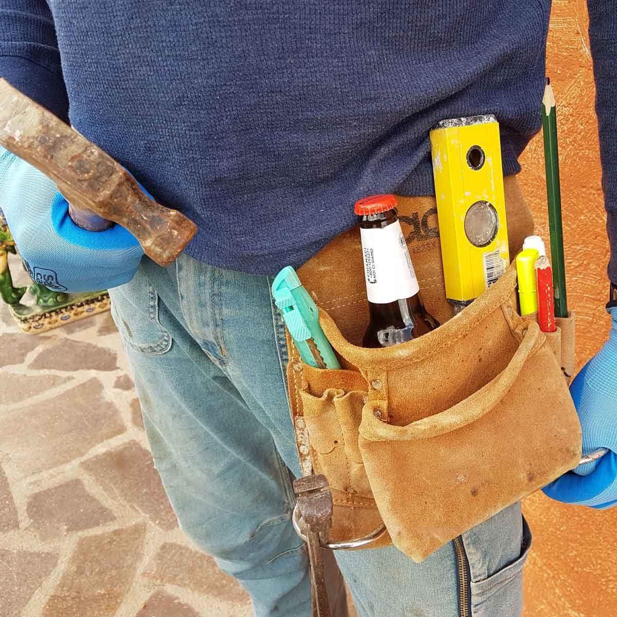 Construction costume tool belt