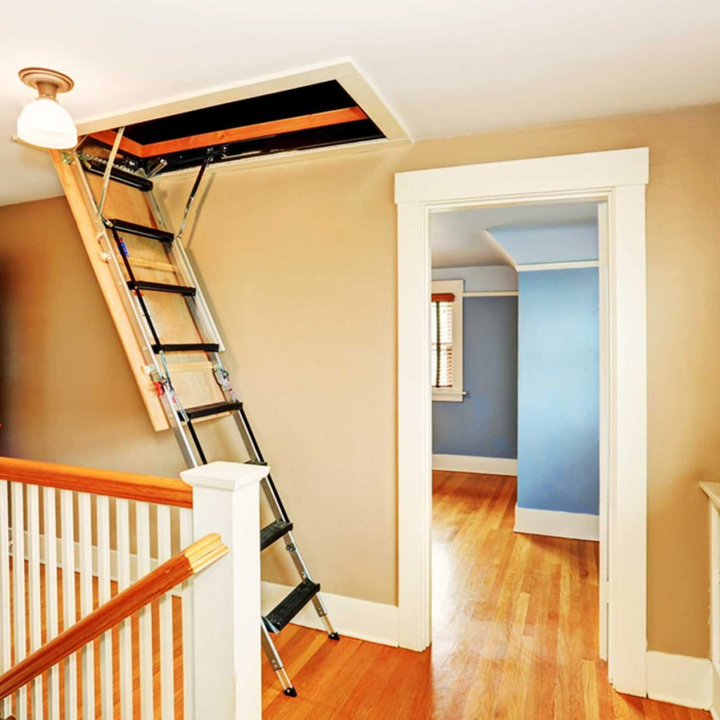 attic stairs access insulation