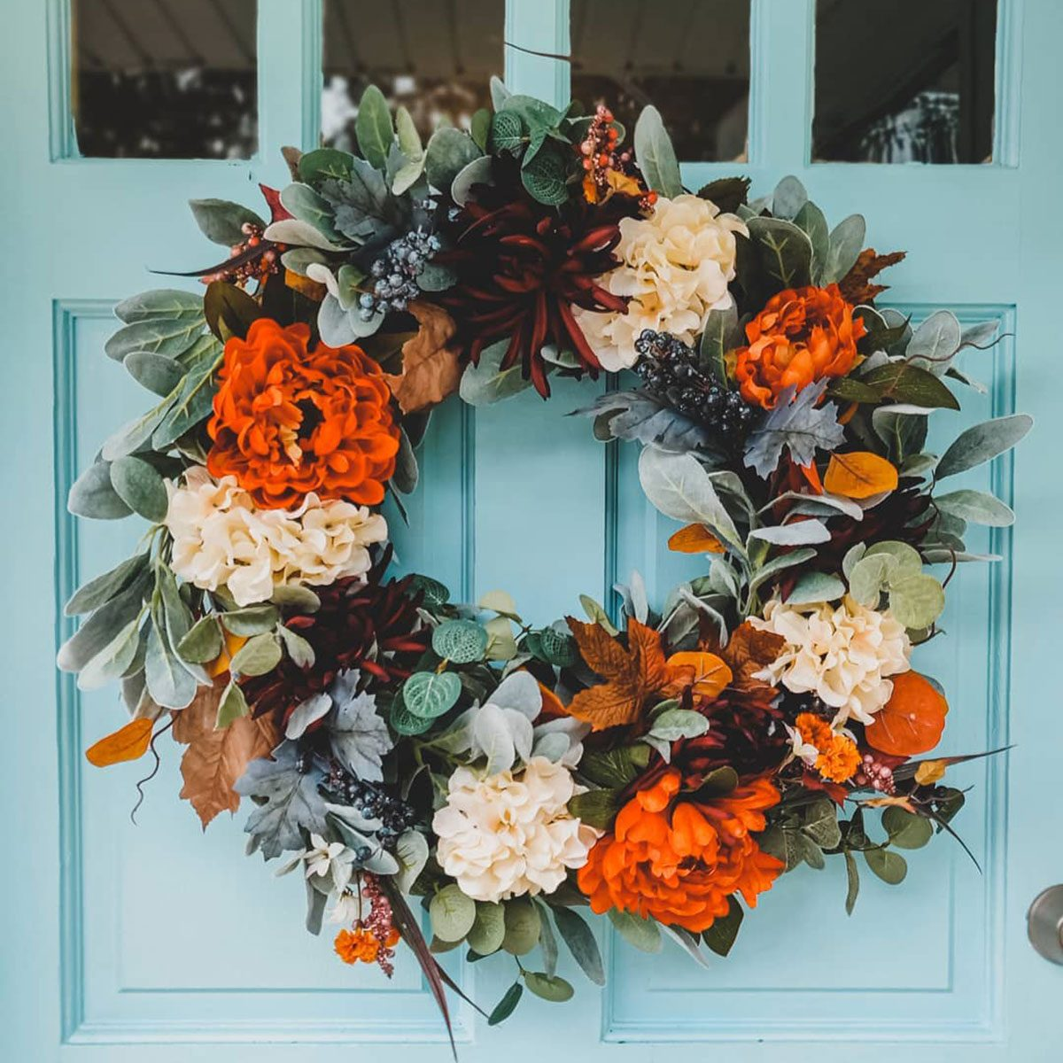 10 Thanksgiving Wreath Ideas and Inspiration
