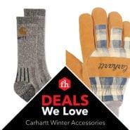 Deals We Love: Carhartt Winter Accessories