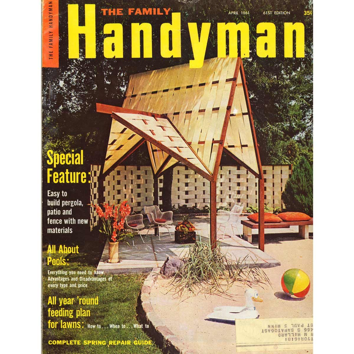 Vintage Family Handyman Covers from the '60s