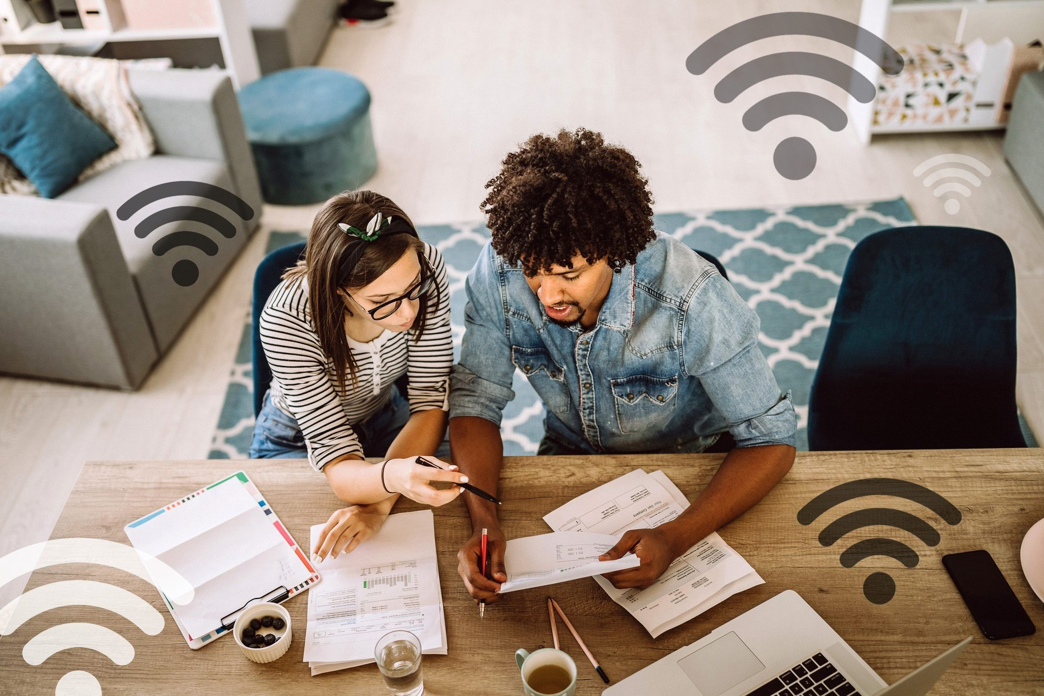 stolen wifi high bills