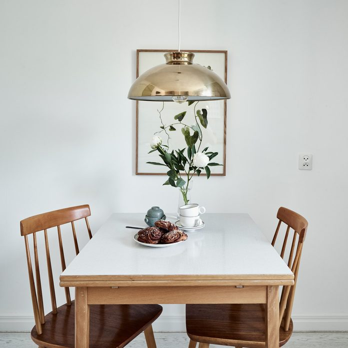 small kitchen Dining table