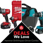 Deals We Love: Hammer Drill and Impact Driver Combo