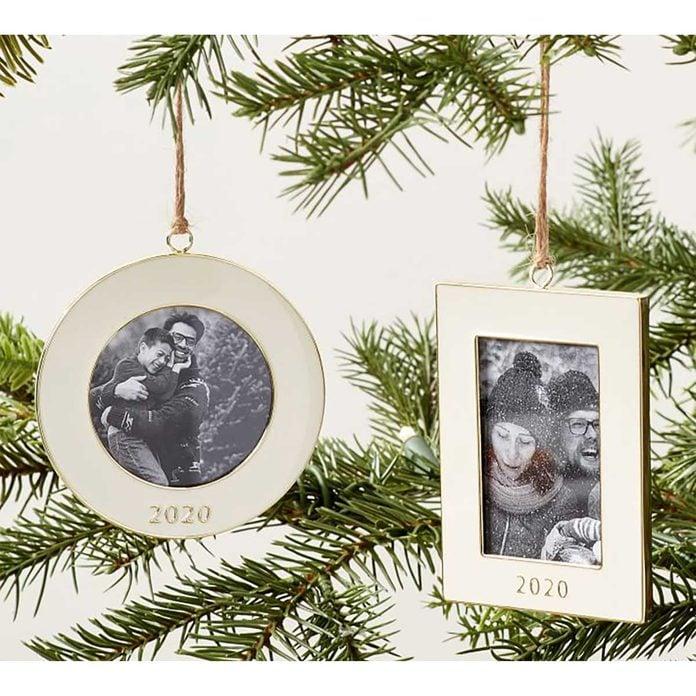Photo frame ornaments