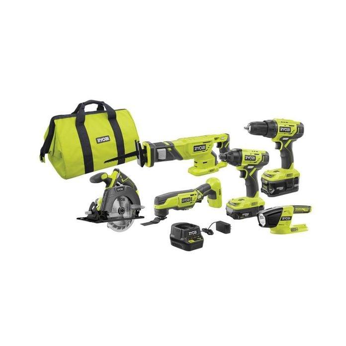 Ryobi tool kit