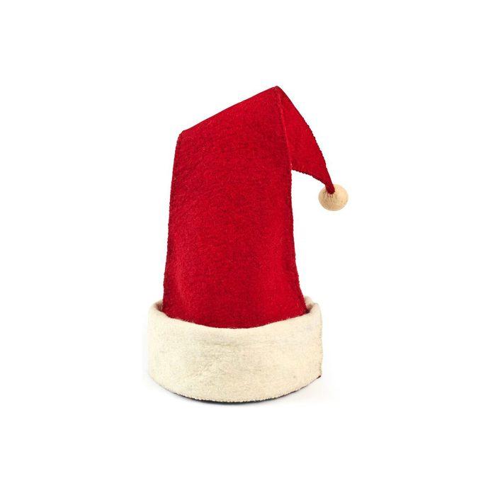 Santa hat tree topper