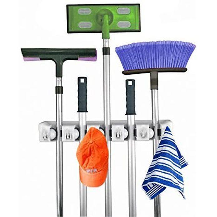 mom and broom organizer
