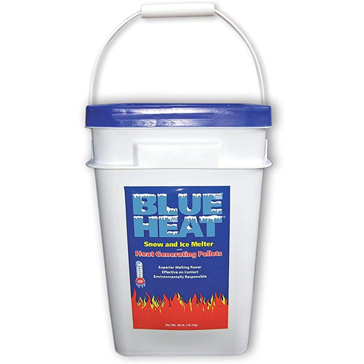 blue heat ice melter