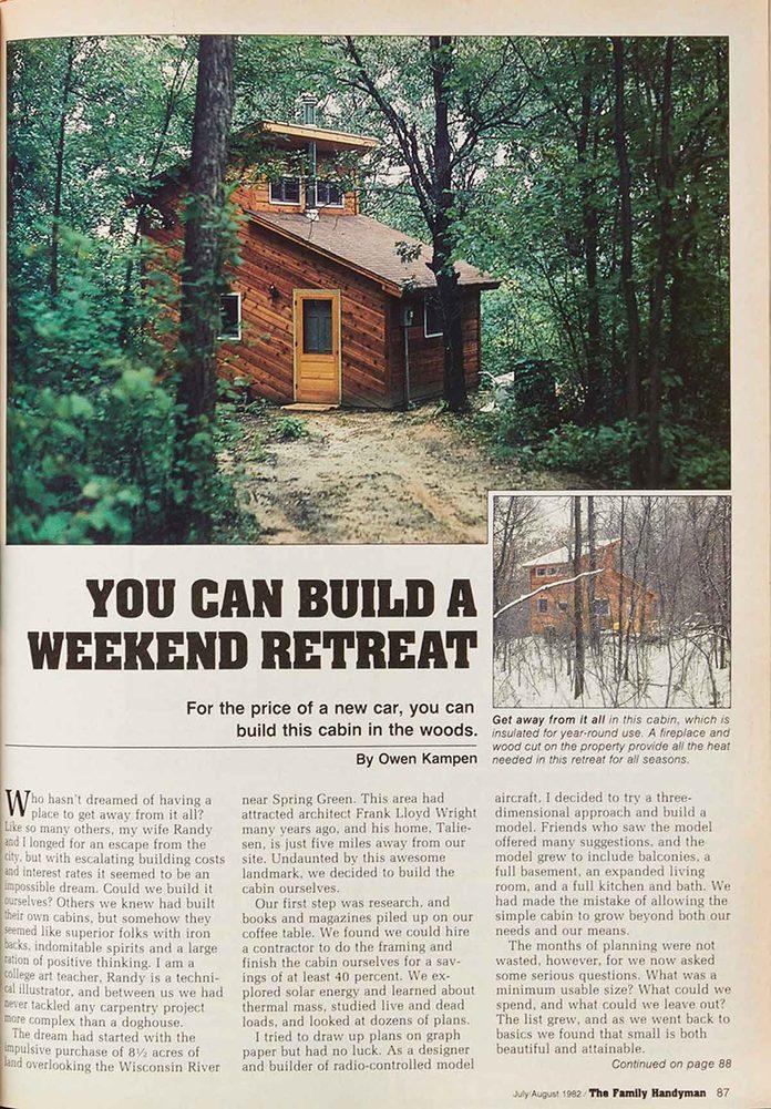 weekend retreat