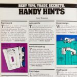 Family Handyman's Vintage Handy Hints from the '80s