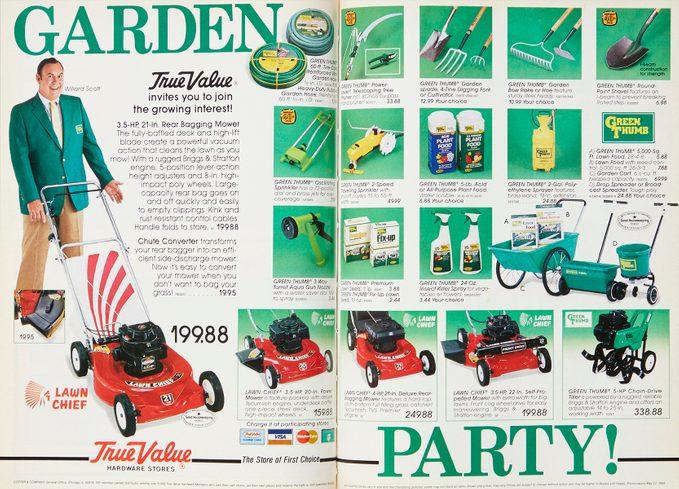 Vintage True Value Ad in Family Handyman Magazine
